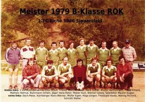 FC Eiche 1979- Meistermannschaft B-Klasse