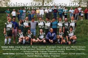 FC Eiche 1993-Meistermannschaft C-Klasse