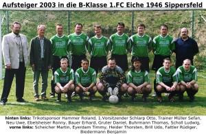 FC Eiche 2003- Aufsteiger