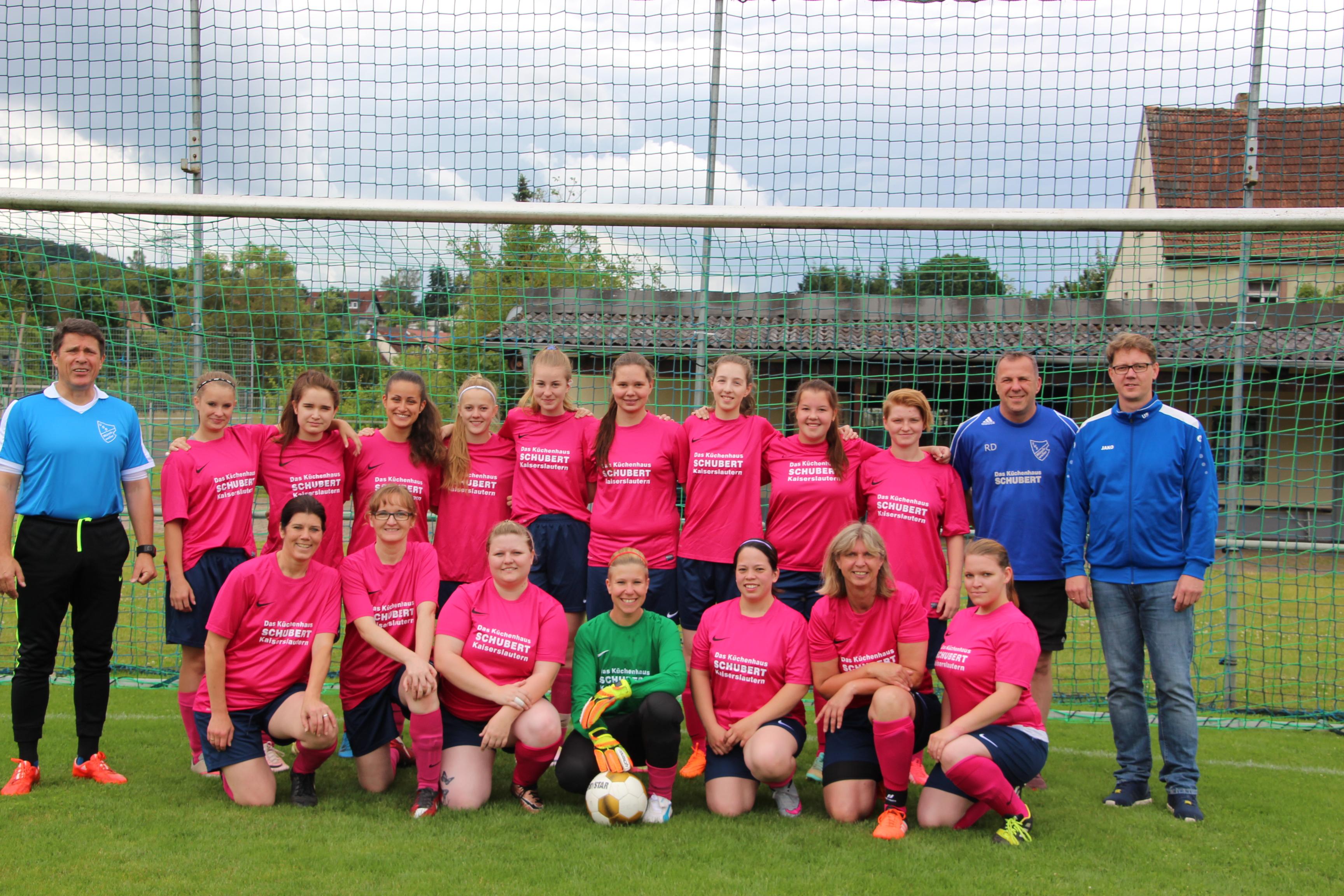 Frauenteam 2016