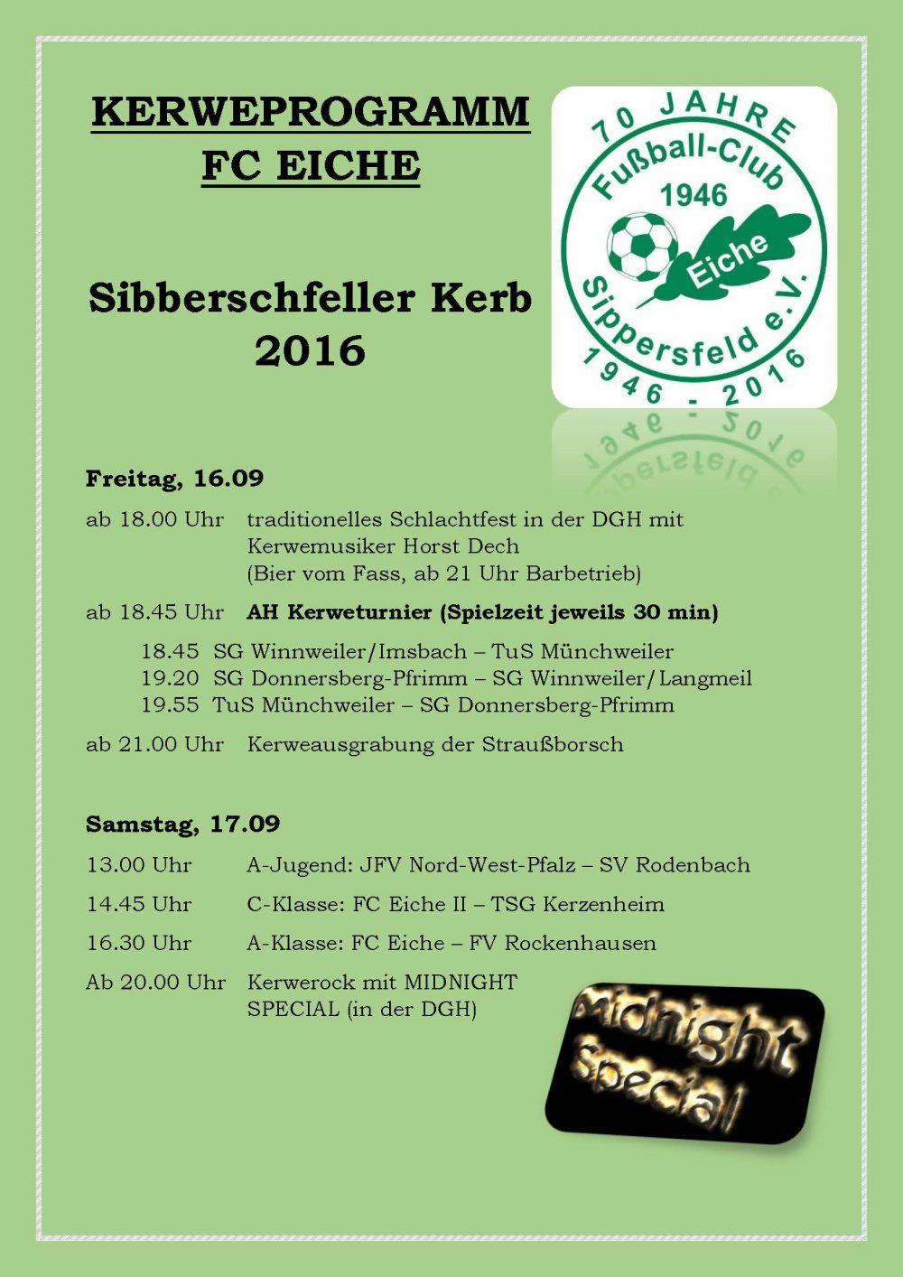Kerweprogramm 2016_FCEiche